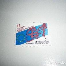 Sellos: EDIFIL 3010. 1989.-PRESIDENCIA ESPAÑOLA COMUNIDADES EUROPEAS. SELLO NUEVO. Lote 204626906