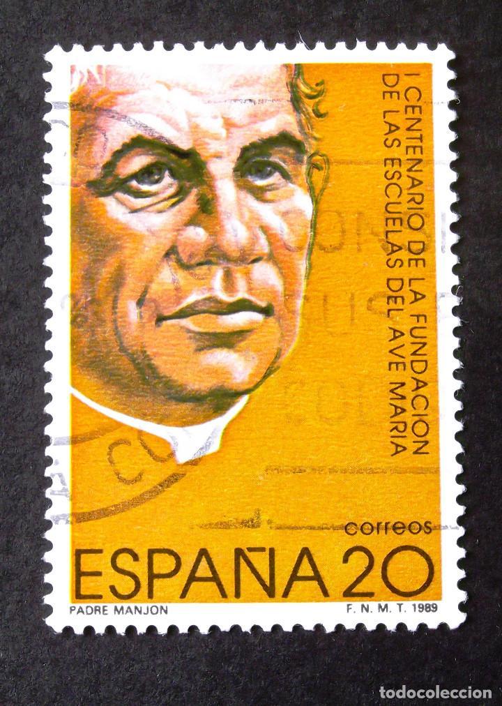 3028, SERIE EN USADO. AVE MARÍA. (Sellos - España - Juan Carlos I - Desde 1.986 a 1.999 - Usados)