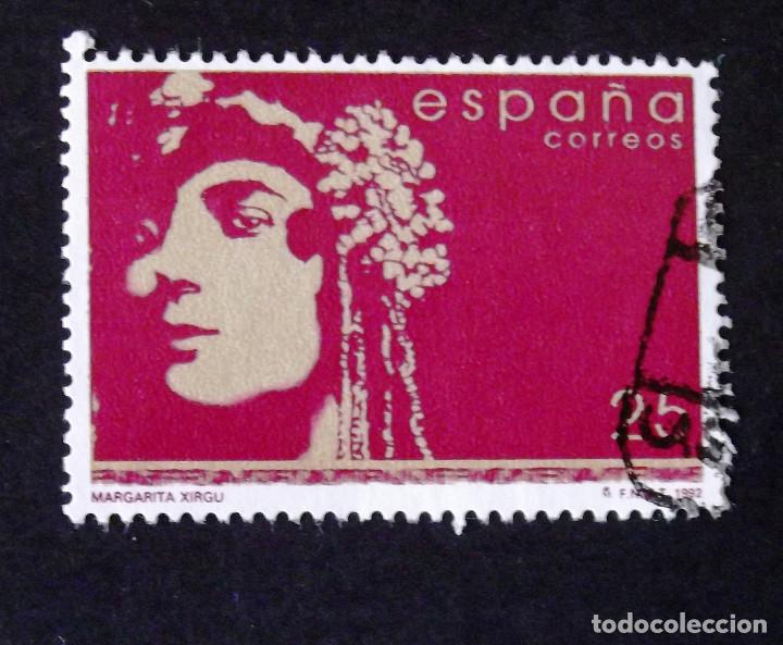 3152, SERIE EN USADO. XIRGU. (Sellos - España - Juan Carlos I - Desde 1.986 a 1.999 - Usados)