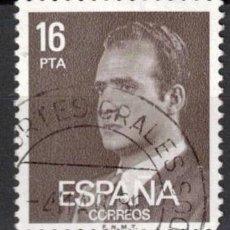 Selos: ESPAÑA 1980 - EDIFIL 2558 - S.M. DON JUAN CARLOS I. Lote 204709773