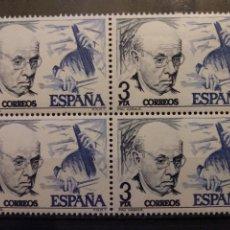 Sellos: AÑO 1976 CENTENARIO DEL NACIMIENTO DE PAU CASALS Y MANUEL DE FALLA 4 SELLOS EN NUEVO EDIFIL 2379. Lote 204847262