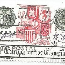 Sellos: LOTE DE 4 SELLOS USADOS DEL AÑO 1982-SERIE EUROPA- LA UNIDAD DE ESPAÑA -EDIFIL 2657. Lote 205123028