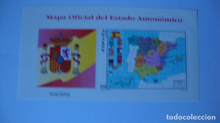 ESPAÑA 1996 EDIFIL 3460 MAPA NUEVO PERFECTO (Sellos - España - Juan Carlos I - Desde 1.986 a 1.999 - Usados)