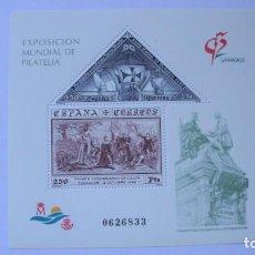 Sellos: ESPAÑA 1992 EDIFIL H-3195 GRANADA 92 NUEVO PERFECTO. Lote 205290302