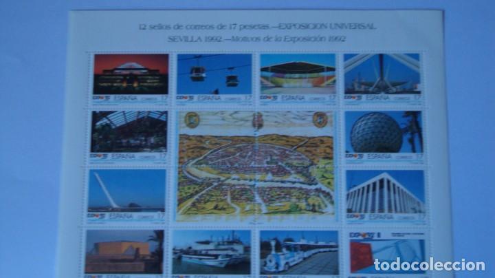 Sellos: ESPAÑA 1992 EDIFIL MP42A 42B EXPO 92 NUEVAS PERFECTAS - Foto 2 - 276915043