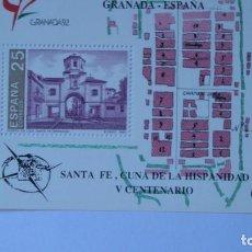 Sellos: ESPAÑA 1991 EDIFIL H-3109 NUEVA PERFECTA GRANADA 92. Lote 205297017