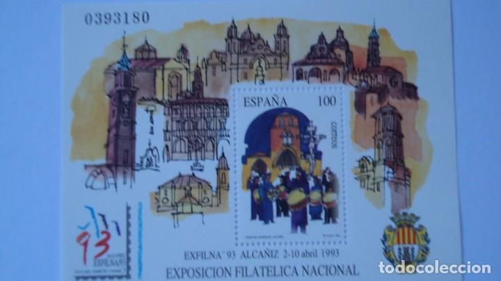 ESPAÑA 1993 EDIFFIL H-3249 EXFILNA 93 NUEVA PERFECTA (Sellos - España - Juan Carlos I - Desde 1.986 a 1.999 - Nuevos)