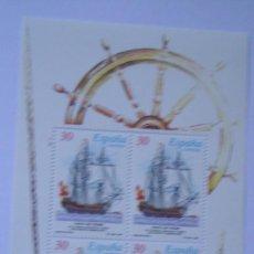 Sellos: ESPAÑA 1995 EDIFIL H-3352/53 BARCOS NUEVAS PERFECTAS. Lote 205301388