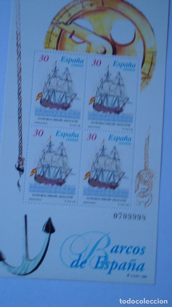 ESPAÑA 1996 EDIFIL 3415/16 BARCOS NUEVAS PEFECTAS (Sellos - España - Juan Carlos I - Desde 1.986 a 1.999 - Nuevos)