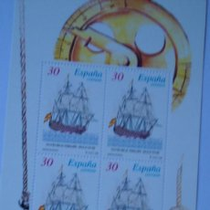 Sellos: ESPAÑA 1996 EDIFIL 3415/16 BARCOS NUEVAS PEFECTAS. Lote 230736510