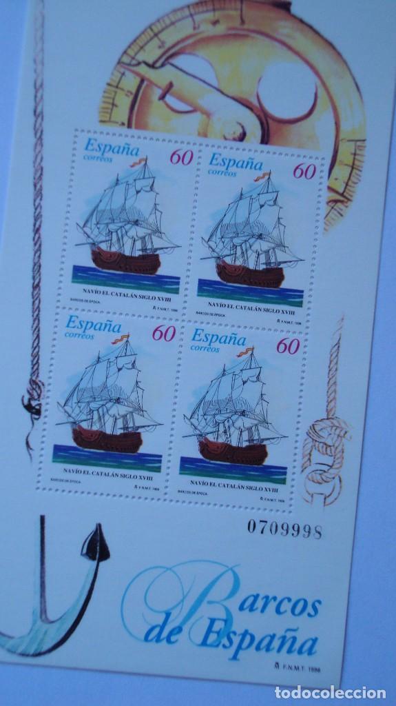 Sellos: ESPAÑA 1996 EDIFIL 3415/16 BARCOS NUEVAS PEFECTAS - Foto 2 - 205302027