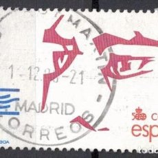 Selos: ESPAÑA 1988 - EDIFIL 2970 - V CENT. DESCUBRIMIENTO DE AMERICA. Lote 205363156