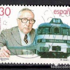Francobolli: ESPAÑA 1995 - EDIFIL 3347 - TREN TALGO. Lote 205438406