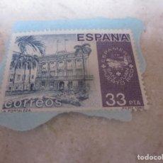 Sellos: SELLO USADO ESPAÑA 33 PESETAS - ESPAMER 82 PUERTO RICO. Lote 205520483