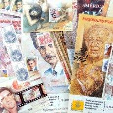 Sellos: LOTE SELLOS ESPAÑOLES SIN TIMBRAR AÑOS 80/90/2000. Lote 205533683