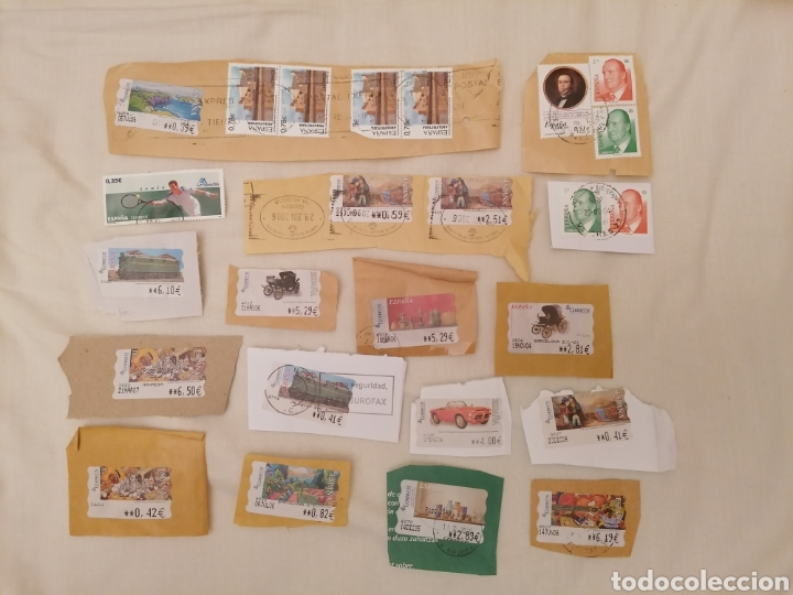 Sellos: GRAN LOTE SELLOS ESPAÑA USADOS, INCLUYE HB - Foto 11 - 205584010