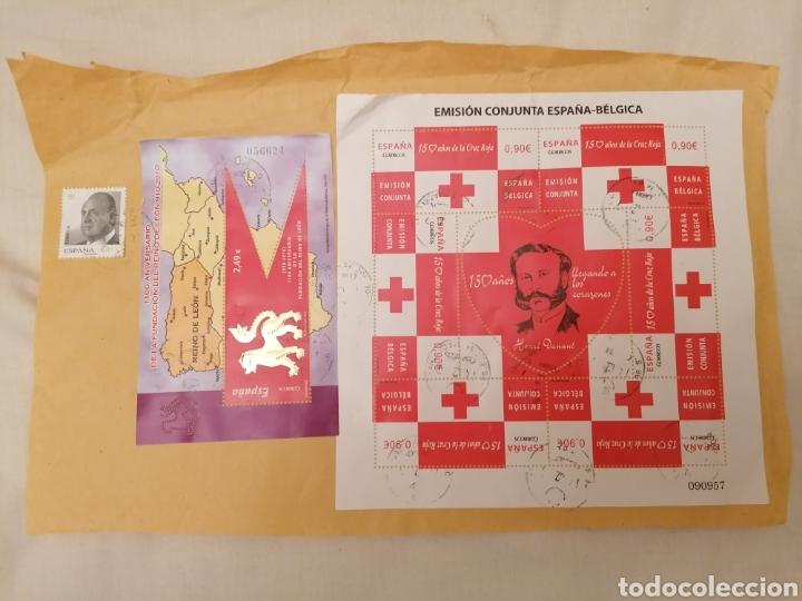 GRAN LOTE SELLOS ESPAÑA USADOS, INCLUYE HB (Sellos - España - Juan Carlos I - Desde 2.000 - Usados)
