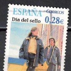 Sellos: ESPAÑA 2005 - EDIFIL 4174 - DIA DEL SELLO. Lote 205589928