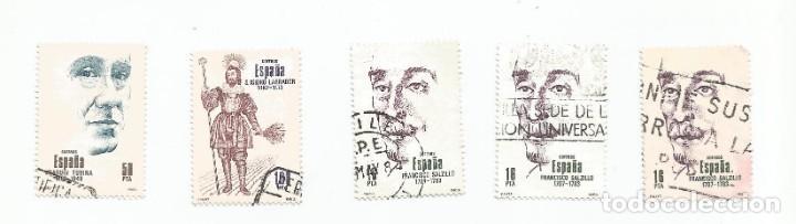 Sellos: LOTE DE 5 SELLOS USADOS DE 1983- SERIE CENTENARIOS- VER RELACION Y FOTOS - Foto 4 - 205672850