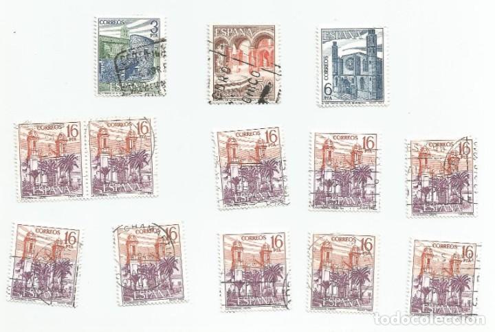 Sellos: LOTE DE 13 SELLOS USADOS DEL AÑO 1983-SERIE PAISAJES Y MONUMENTOS- VER RELACION Y FOTOS - Foto 5 - 205674688