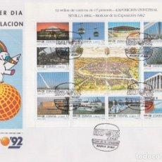 Timbres: 1992. EXPOSICIÓN MUNDIAL DE SEVILLA SPD EDIFIL Nº MP42A/MP42B. Lote 205734320