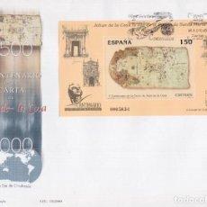 Sellos: 2000. CARTA DE JUAN DE LA COSA SPD EDIFIL Nº 3722. Lote 205734810