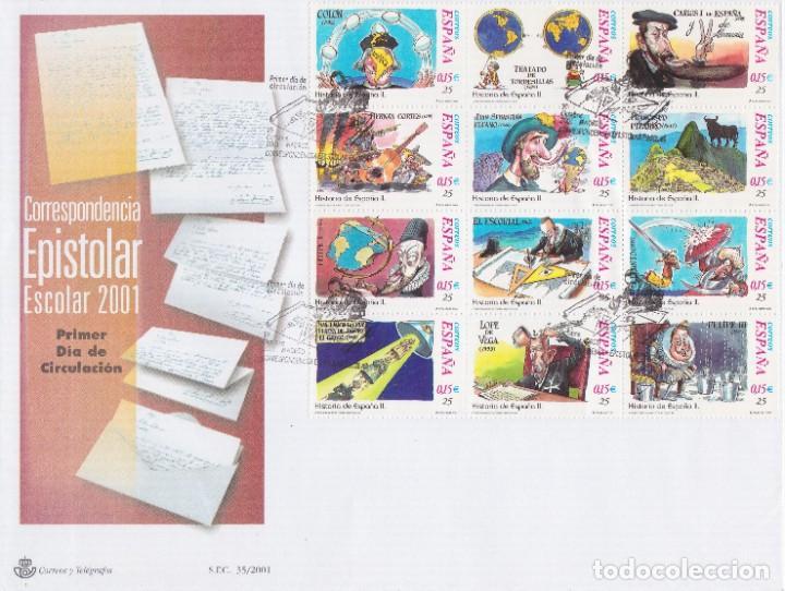 2001. CORRESPONDENCIA EPISTOLAR ESCOLAR SPD EDIFIL Nº MP76 (Sellos - España - Juan Carlos I - Desde 2.000 - Usados)