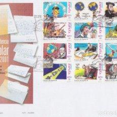 Sellos: 2001. CORRESPONDENCIA EPISTOLAR ESCOLAR SPD EDIFIL Nº MP76. Lote 205734977