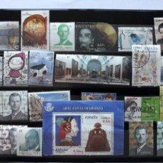 Sellos: LOTE SELLOS USADOS EN EUROS DIFERENTES VALORES INTERESANTES. Lote 205763948