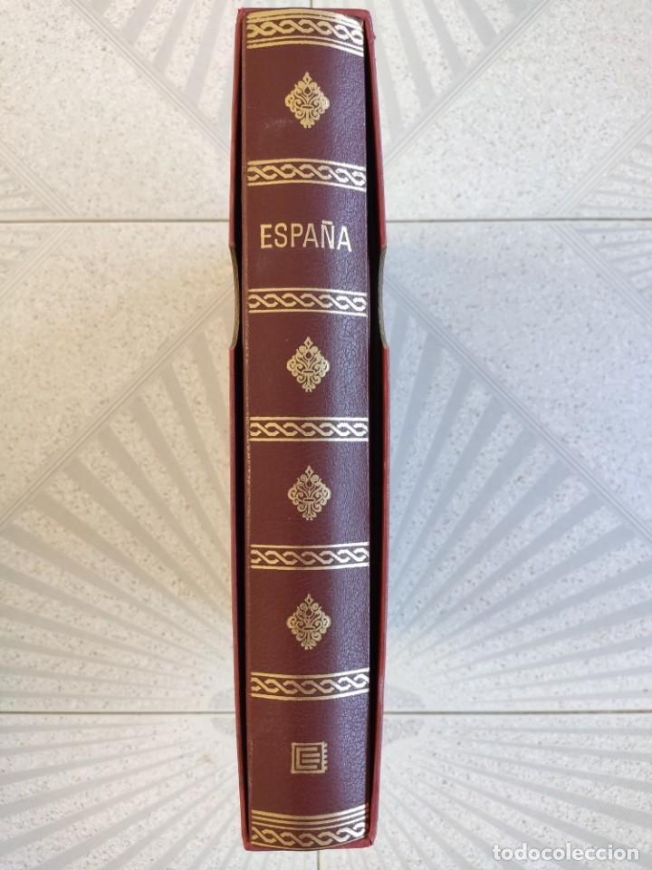 ESPAÑA SELLOS EN BLOQUE DE 4 DE LOS AÑOS 1975 1976 1977 1978 CON HOJAS EDIFIL EN NEGRO HEBS70 (Sellos - España - Juan Carlos I - Desde 1.975 a 1.985 - Nuevos)