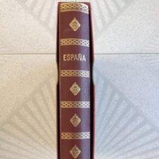 Sellos: ESPAÑA SELLOS EN BLOQUE DE 4 DE LOS AÑOS 1975 1976 1977 1978 CON HOJAS EDIFIL EN NEGRO HEBS70. Lote 205826555