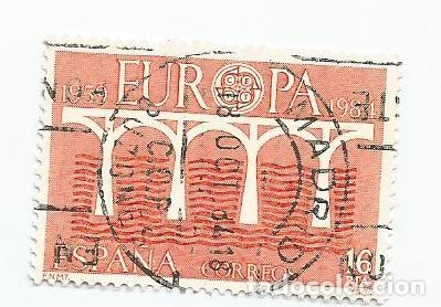 Sellos: LOTE DE 5 SELLOS USADOS DE 1984- SERIE EUROPA- EDIFIL 2756 - Foto 2 - 205842298