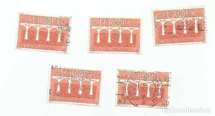 Sellos: LOTE DE 5 SELLOS USADOS DE 1984- SERIE EUROPA- EDIFIL 2756 - Foto 3 - 205842298