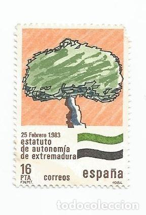 LOTE DE 8 SELLOS USADOS DE 1984-SERIE ESTATUTOS DE AUTONOMIA- VER RELACION Y FOTOS (Sellos - España - Juan Carlos I - Desde 1.975 a 1.985 - Usados)