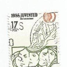 Sellos: SELLO USADO DE 1985- SERIE AÑO INTERNACIONAL DE LA JUVENTUD- EDIFIL 2787. Lote 206155217