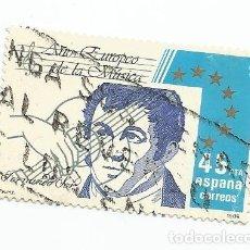 Sellos: SELLO USADO DE 1985- SERIE AÑO EUROPEO DE LA MUSICA- FERNANDO SOR-EDIFIL 2805. Lote 206155957
