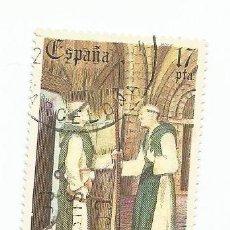 Sellos: SELLO USADO DE 1985- SERIE DIA DEL SELLO-CORREO DE ROTULAS-EDIFIL 2810. Lote 206156547