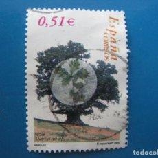Sellos: 2003, ARBOLES, ROBLE, EDIFIL 4023. Lote 206323461