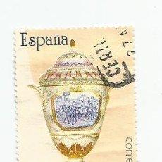 Sellos: LOTE DE 3 SELLOS USADOS DE 1987- SERIE ARTESANIA ESPAÑOLA- CERAMICA- EDIFIL 2891-2892 Y 2893. Lote 206330391