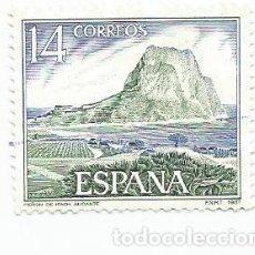 Sellos: SELLO USADO DE 1987- SERIE PAISAJES Y MONUMENTOS- PEÑON DE IFACH- EDIFIL 2900. Lote 206334236