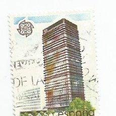 Sellos: SELLO USADO DE 1987- SERIE EUROPA EDIFICIO DEL BANCO DE BILBAO- EDIFIL 2900. Lote 206334521