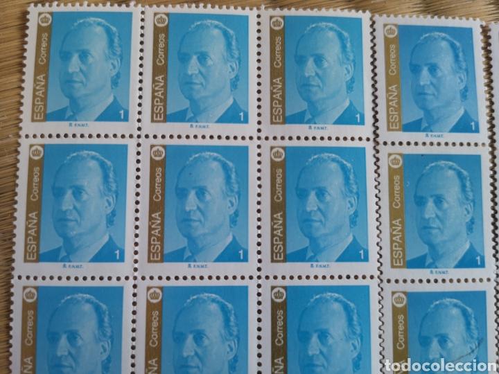 Sellos: 30 sellos nuevos de 1 peseta Juan Carlos I 1985 - Foto 2 - 206381192