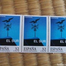 Sellos: 3 SELLOS DE 32 PESETAS 1997 MOTIVO CINE ESPAÑOL EL SUR. Lote 206385816