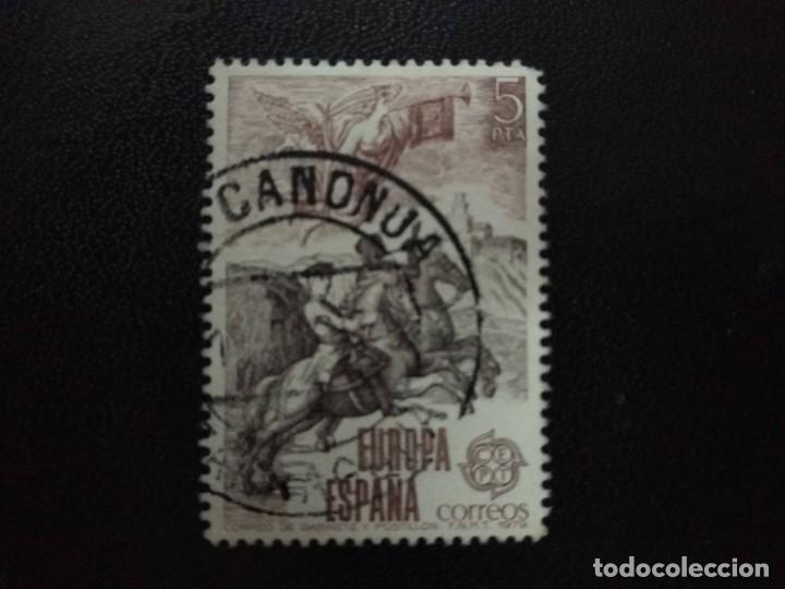 ESPAÑA 1979. MI:ES 2412 (2400) (Sellos - España - Juan Carlos I - Desde 1.975 a 1.985 - Usados)