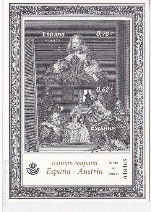 HP10-1- PRUEBA DE ARTISTA EDIFIL 99- OBRAS VELAZQUEZ . LUJO (Sellos - España - Juan Carlos I - Desde 1.986 a 1.999 - Nuevos)