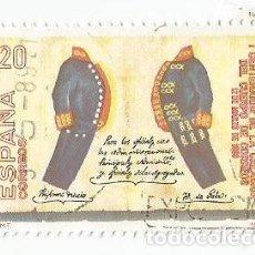 Sellos: LOTE DE 3 SELLOS USADOS DE 1989- SERIE CENTENARIO DE LA CREACION DEL CUERPO DE CORREOS-EDIFIL 2998. Lote 206465003