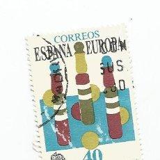 Sellos: SELLO USADO DE 1989- SERIE EUROPA- JUEGOS INFANTILES- EDIFIL 3008. Lote 206465837