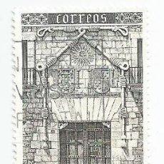 Sellos: LOTE DE 2 SELLOS USADOS DE 1989- SERIE FACHADA CASA DEL CORDON-BURGOS- EDIFIL 3000. Lote 206466317