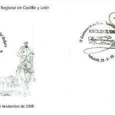 Timbres: SOBRE CON ATM CON LEYENDA Y MATASELLO ALUSIVO DE VALLADOLID. Lote 206533981