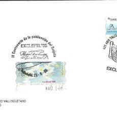 Timbres: SOBRE CON 2 ATMS CON LEYENDA Y MATASELLO ALUSIVO DE VALLADOLID. Lote 206534102